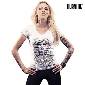 Norvine ladies T-Shirt tattooed girl