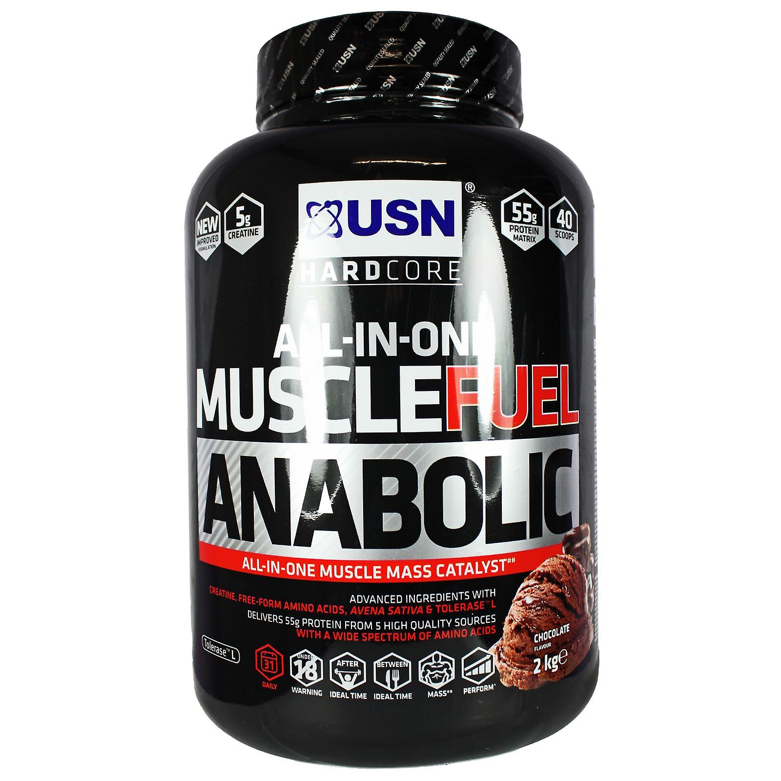 USN Muscle Fuel Anabolic 2kg Chocolate