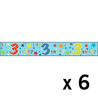 Simon Elvin Foil Banner 3 x 6 anni