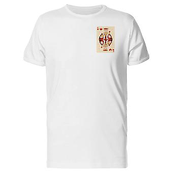 Illistration Of King Of Hearts Tee Men's -Image by Shutterstock