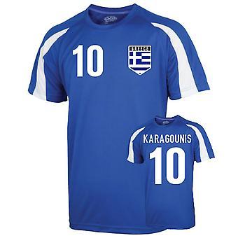 اليونان الرياضة التدريب جيرسي (كاراغونيس 10)
