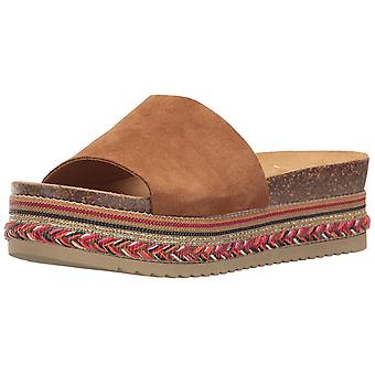 LFL by Lust for Life Womens Perk Open Toe Casual Slide Sandals