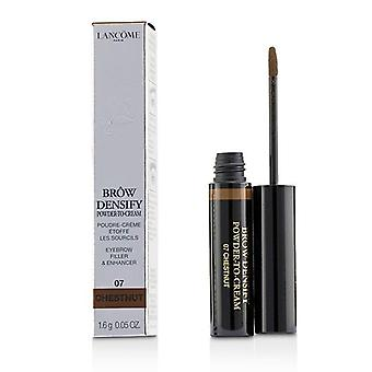 Lancome Brow Densify Powder To Cream - # 07 Chestnut - 1.6g/0.05oz