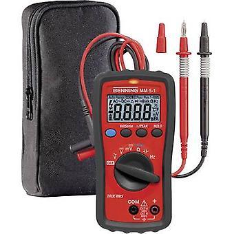 Benning MM 5-1 håndholdt multimeter digital kat III 600 V, kat IV 300 V display (tæller): 6000