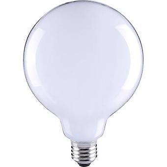 Sygonix LED (monochroom) EEC A++ (A++ - E) E27 Globe 6 W = 55 W Warm wit (Ø x L) 80 mm x 115 mm Filament 1 pc(s)