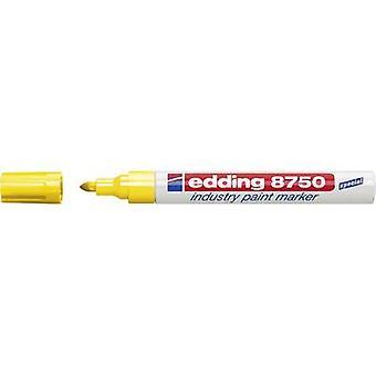 Edding 4-8750005 E-8750 Verfmerker Geel 2 mm, 4 mm 1 pc's/pack