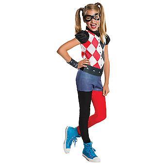 Harley Quinn DC Super Hero Girls Kostüm für Kinder Kinderkostüm Original
