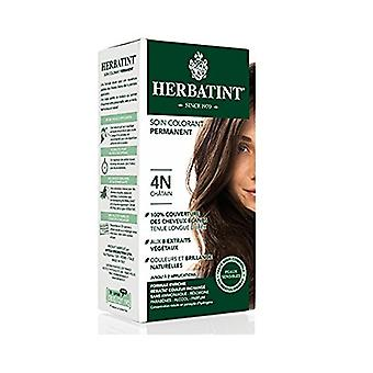 Herbatint, Chestnut Hair Colour 4N, 150ml