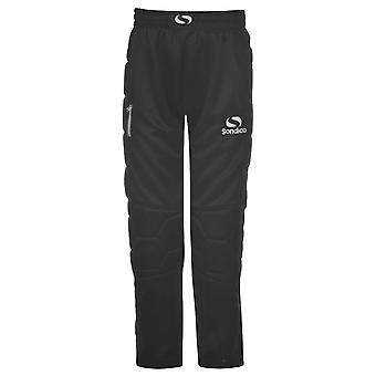 Sondico Kids Keeper Pant Junior64 Boys Sports Goalkeeper Trousers Pants Bottoms