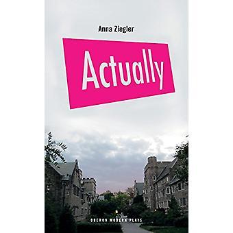 Tatsächlich von Anna Ziegler - 9781786823083 Buch