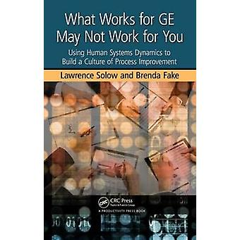 What Works for GE May Not Work for You - Using Human Systems Dynamics