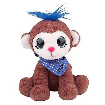 Snukis soft Animals 18 cm Flip The Monkey ape stuffed animal Plush