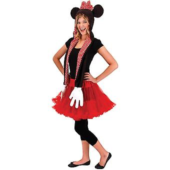 Minnie Hoodie sciarpa
