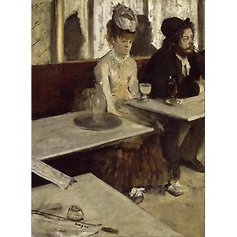 Absinthe, Edgar Degas, 50x37cm