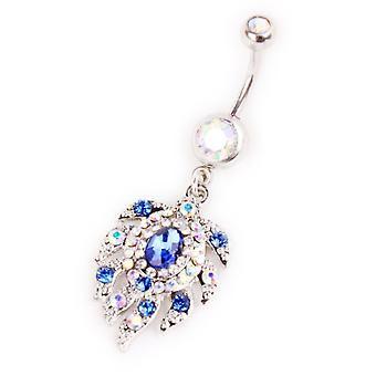 Pupok piercing Diamond listy