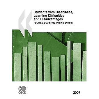 Studenten met een functiebeperking leren problemen en nadelen beleid statistieken en indicatoren 2007 Edition door OESO Publishing