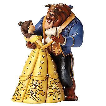 Belle and Beast Moonlight Waltz 25th Anniversary Figurine