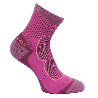 Regatta Damen 2 Paar aktiv Walking Socken lila RWH031