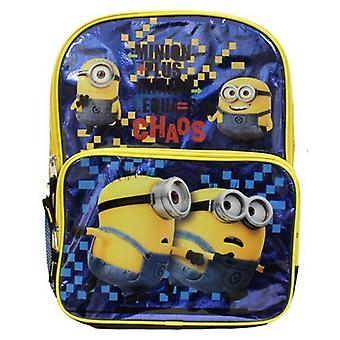 Backpack - Despicable Me - Shiny Minion New S15DL22274UP
