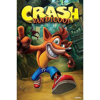 Crash Bandicoot Poster Next Gen Bandicoot