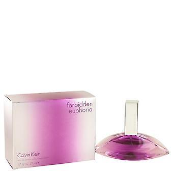 Forbidden Euphoria Eau de Parfum Spray por Calvin Klein 50 ml