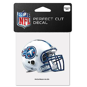 Wincraft capacete adesivo 10x10cm-NFL Tennessee Titans