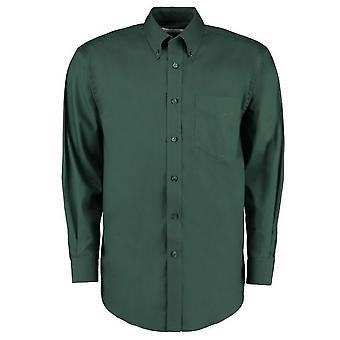 Kustom Kit Mens Corporate Long Sleeve Oxford Shirt