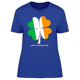 Patricks Clover Irish Flag tee kvinnor ' s-bild av Shutterstock