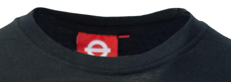 Licensed tfl™101und unisex london undergound™ t shirt black