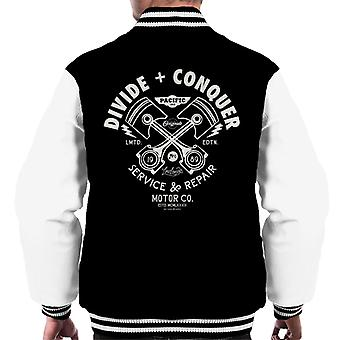 Divide & Conquer Lowlands Service And Repair Men's Varsity Jacket