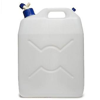 New Fps Camping  25L Jerry Can Tap White