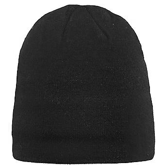 Barts mens Core mjuk Fleece fodrad Stickad mössa hatt