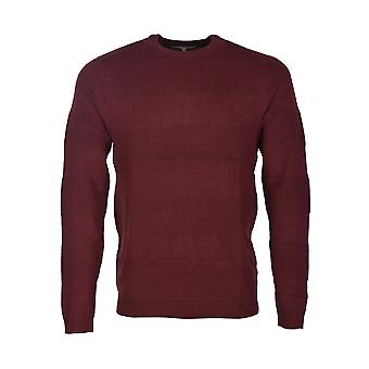 AMON CREW NECK JUMPER EN BERRY