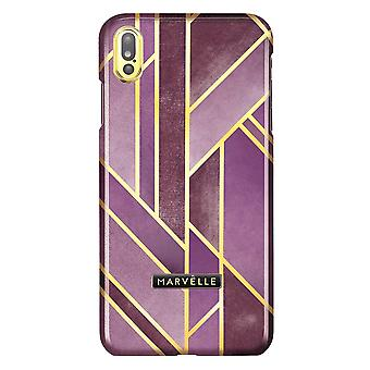 Marvêlle iPhone X/Xs Magnetic Case Golden Velvet Pink