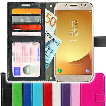 SUPER SLIM Samsung Galaxy J5 2017 wallet Case 4pcs card