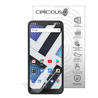 Celicious Matte Flex Anti-Glare 3D Screen Protector Film Compatible with Archos Core 62s [Pack of 3]