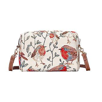 Robin shoulder hip bag by signare tapestry / hpbg-rob