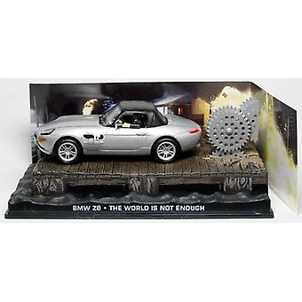 BMW Z8 Diecast Model Car from James Bond The World Is Not Enough
