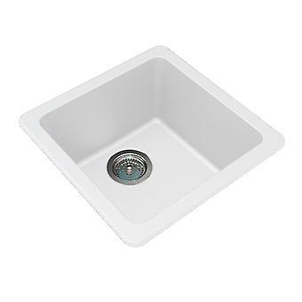 422 X 422 X 203 Mm Granite Quartz Stone Kitchen Sink Single Bowl