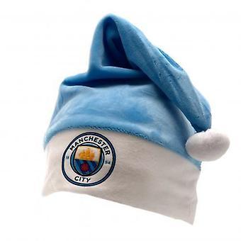 Manchester City Santa Hat