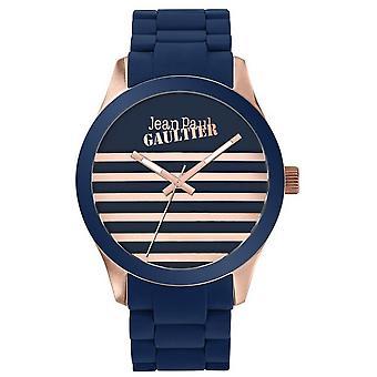 Se Jean Paul Gaultier 8501127-Bicolore Steel Blue og Dor Rose Marin dial