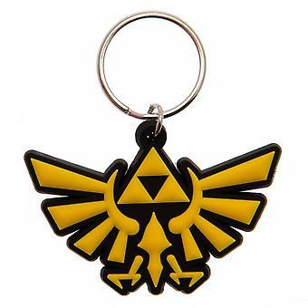 The Legend of Zelda Triforce Keyring