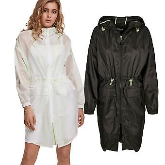 Urban Classics Ladies - Transparent Parka Windbreaker Jacket