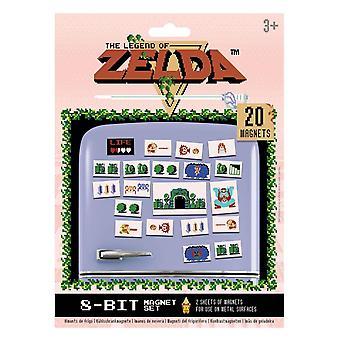 La Légende de Zelda, 20x Aimants