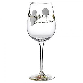 Hallmark Style & Gracie Beautiful Times Wine Glass