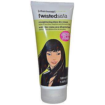 Urban Therapy Twisted Sista Blow Drying Creme 100ml