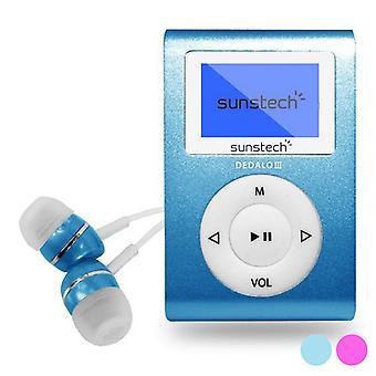 MP3-soitin Sunstech Dedalo III 1,1& 8 GB/Hopea
