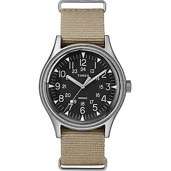 Timex MK1 Nylon Indiglo Mens Watch TW2T10300