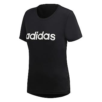Adidas D2M Logo Tee DS8724 training summer women t-shirt