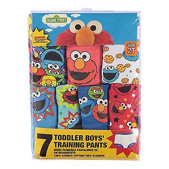 Sesame Street Boys' Toddler 7-Pack, Susan, 2T, Susan, Dimensiune 2T